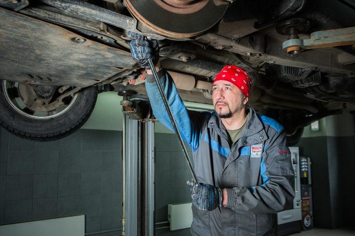 Замена опорных подшипников на Opel Astra