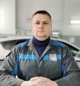 Мастер-приёмщик, Алексей Зуднев