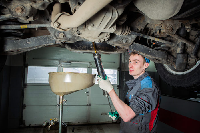 Техническое обслуживание, замена масла на Kia Cerato