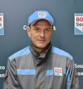 Автомеханик, Сергей Танюшин